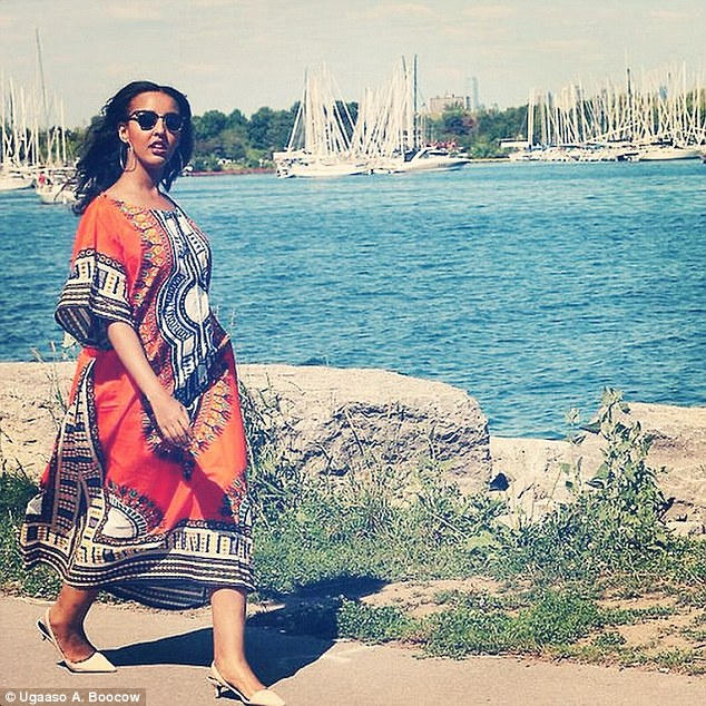 Ugaaso Abukar Boocow began using Instagram to assure her family in Canada that she is safe in Somalia