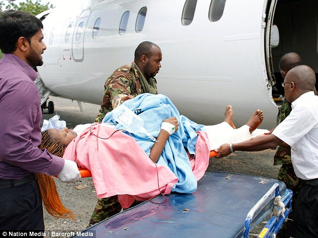 Kenyan authorities have airlifted some of the wounded to Nairobi for treatment following the attack this morning