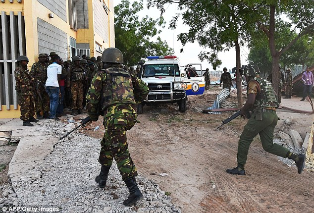 Tragedy: Last night, officials confirmed the security operation is now over but the death toll has reached 147