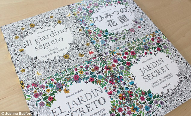 Scottish Johanna Basfords Adult Colouring In Book Sells 1
