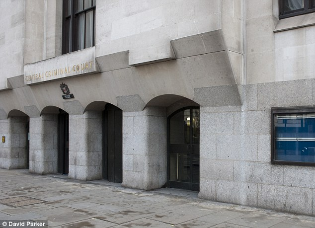 The 22-year-old appeared at the Old Bailey in a large coat and hood, wearing a veil in the courtroom