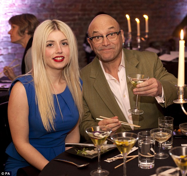 Married man: Greg Wallace is reportedly set to marry his fourth wife-to-be Anne-Marie Sterpini in a 'secret lavish London ceremony' on Saturday
