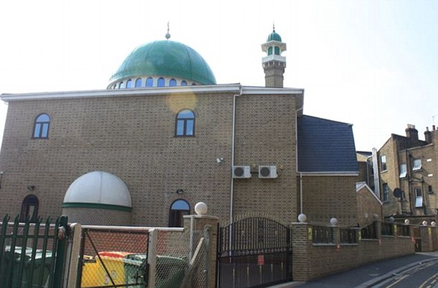 Mr Arwani was a preacher at the An-Noor Mosque (pictured) in Acton, West London, which has a reputation for hosting fundamentalist speakers