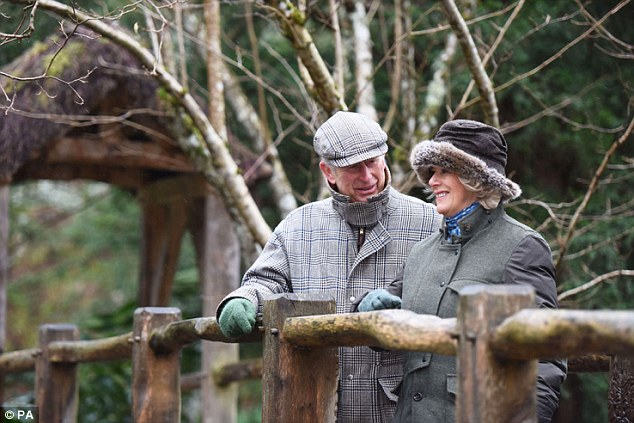 Portrait of a happy marriage: Charles and Camilla in the new photo released to mark their 10th anniversary