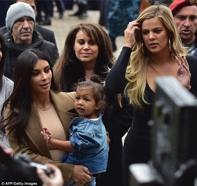 Kim Kardashian And Khloe Explore The Ruins Of Their