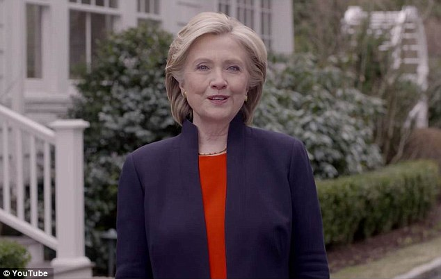 HILLARY'S TURN: Mrs Clinton is launching a second bid for president and would become America's first female commander-in-chief if things go her way