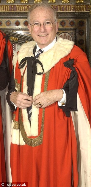 Allegations: Veteran peer Lord Janner (pictured in 2002) has repeatedly denied claims he abused young boys at care homes and is now not fit to stand trial despite 'credible evidence'