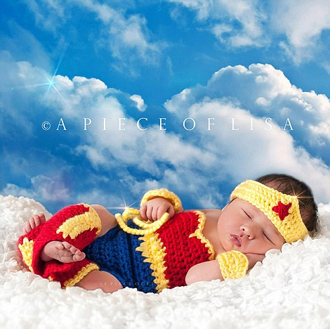 Sleeping Cute Baby Wallpaper Parents Dress Up Their Snoozing Newborns In Superhero And