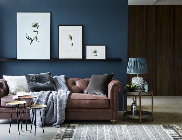 Living Room Duck Egg Blue