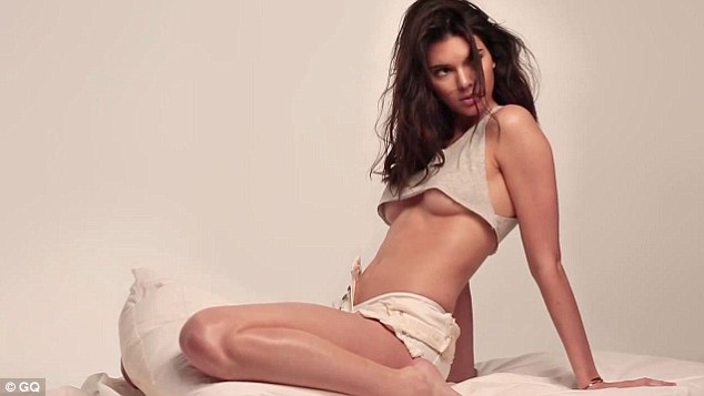 Kendall Jenner Goes Topless For GQ Magazine