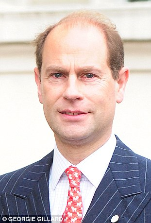 Prince Edward, Earl of Wessex is now 9th in line to the throne