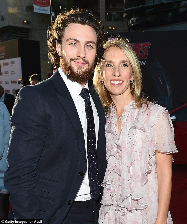 Aaron Taylor-Johnson reveals wife Sam saved him as a ...