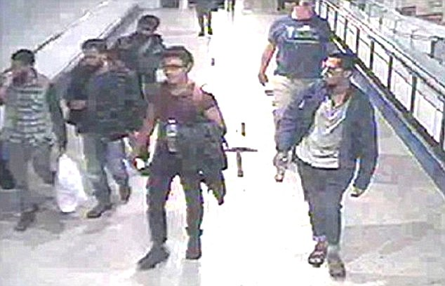 Jaffar Deghayes was spotted leaving Gatwick Airport for Syria with three other men from the Portsmouth area