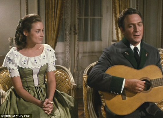 Image result for charmian carr and christopher plummer