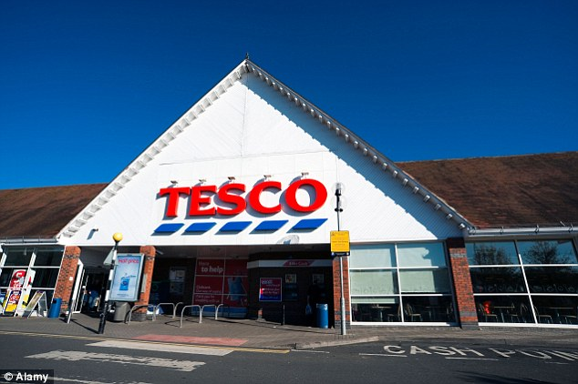 Disastrous: Tesco today announced a 'horror show' loss of £6.38billion – the biggest in its 97-year history