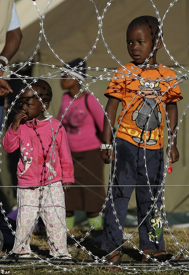 Outcast: There are about 7,000 foreigners sheltering in special camps in Durban and Johannesburg