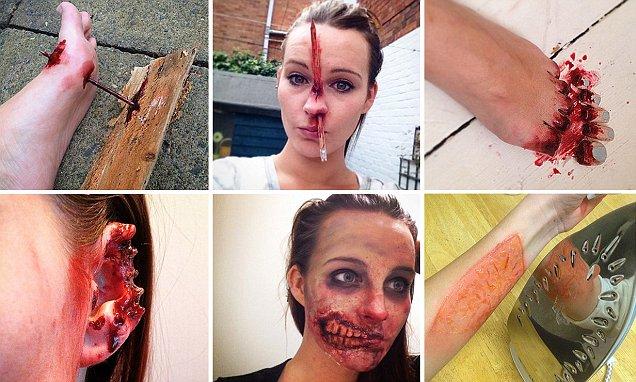 Make Up Artist Abi Gordon Cody Uses Her Skills To Create