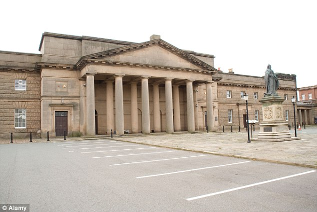 A jury at Chester Crown Court was today shown a video-taped interview which the woman gave to police two days after the alleged incident. Five days later, the woman took a fatal overdose