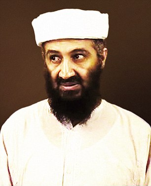 Islamic extremist: The suspects include two men thought to have worked for the late Al Qaeda leader Osama bin Laden (pictured)