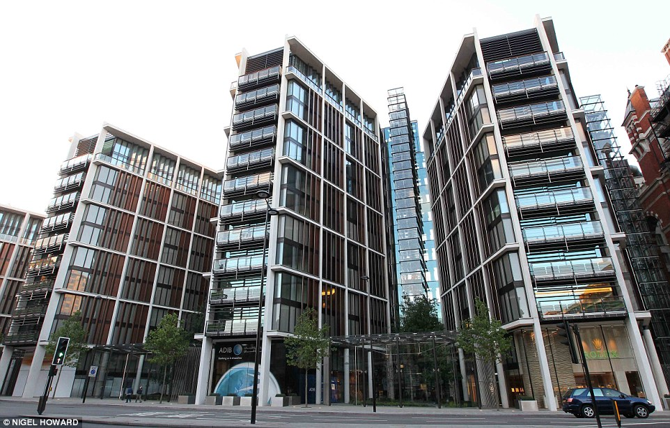Exclusive: Qatar's prime minister owns 50 per cent of One Hyde Park, pictured, through his property development company Waterknights