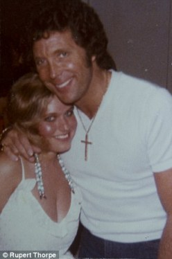 Affair: Charlotte Laws with Tom Jones, who took her virginity at 18 - seduced after a Florida concert