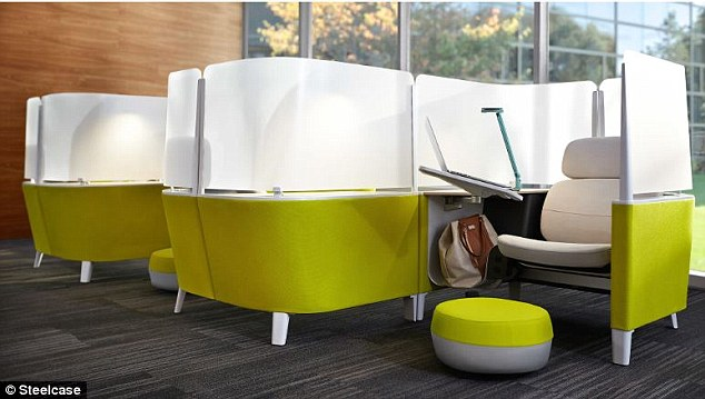 Steelcase designs Brody WorkLounge for the office  Daily