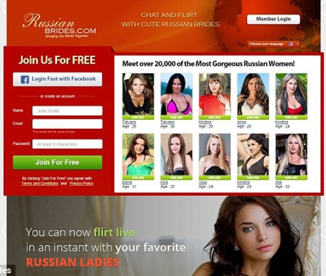 Booming Russianbrides Com Pictured Now Boasts An Online Community Of More Than