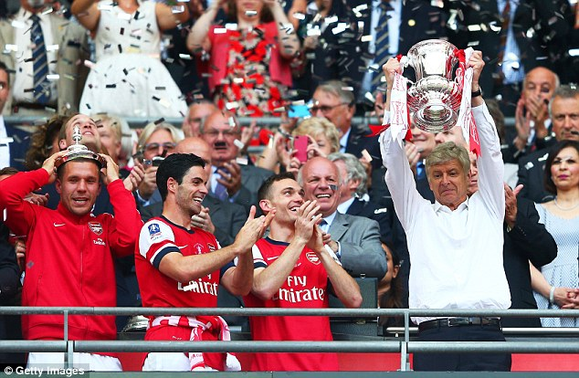 Arsenal won last season's FA Cup competition, which will be rebranded the Emirates FA Cup