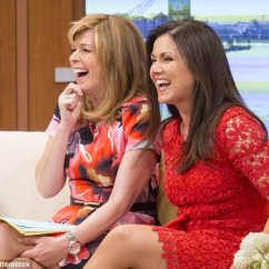 What To Put Behind A Sofa Living Room Set Images Susanna Reid Laughs With Kate Garraway On Good Morning ...