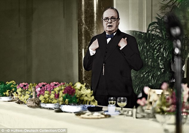 How Churchill ate his way to victory He was sustained through the war by his personal cook