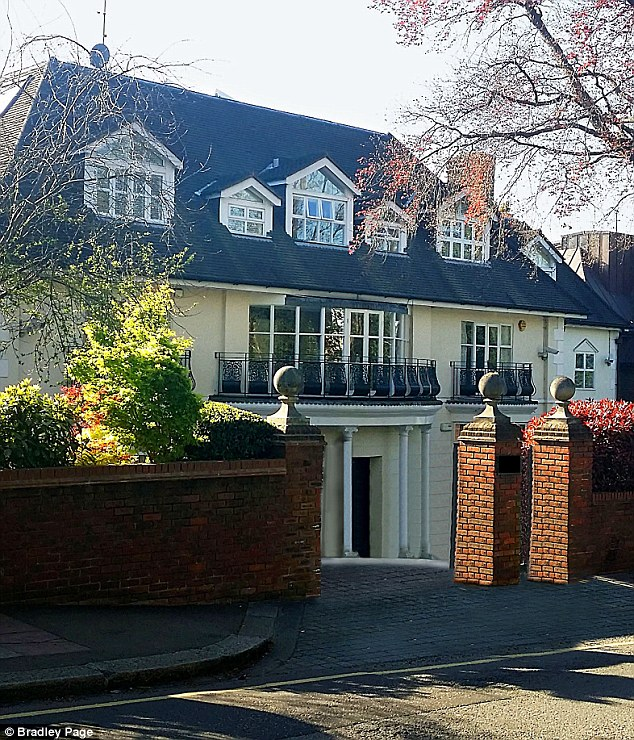 Lord Janner's Hampstead home. He transferred ownership of his apartment to his three children in the same month his Parliamentary office was searched by police last year