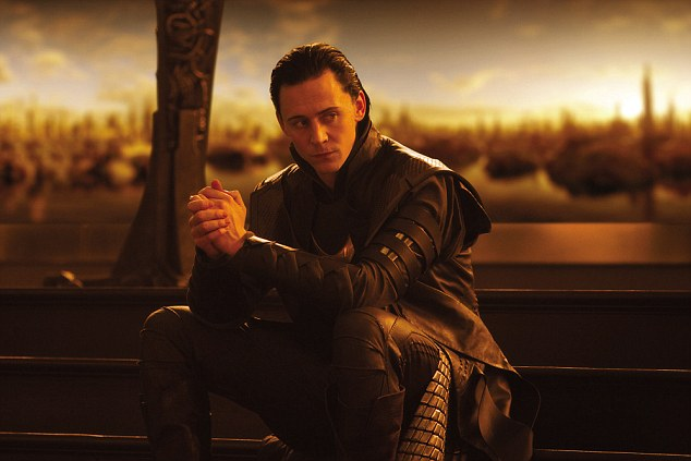 Exciting: According to emails exposed by WikiLeaks, 34-year-old Hiddleston will take on the role of Scotland's warrior king Robert the Bruce in the upcoming movie