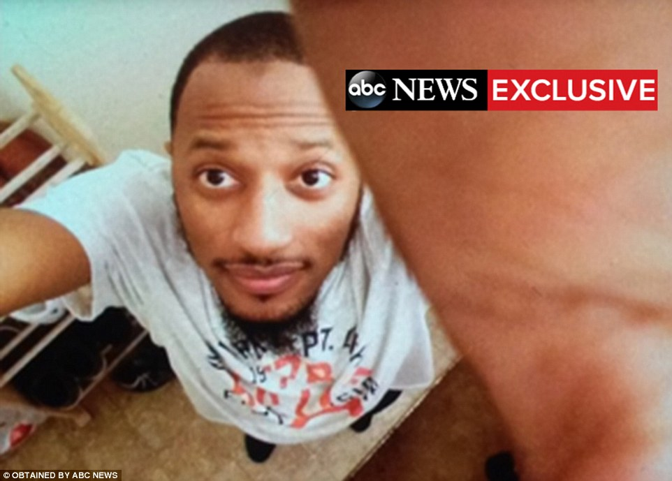 Shot dead: Elton Simpson, pictured, was one of the two gunmen who stormed an anti-Islam event on Sunday evening in Texas