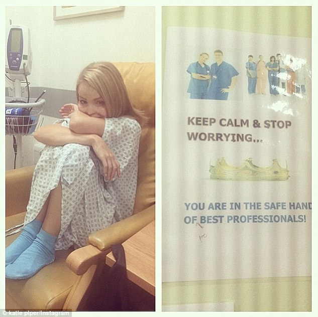 Katie Piper Returns To Hospital For Throat Procedure 7