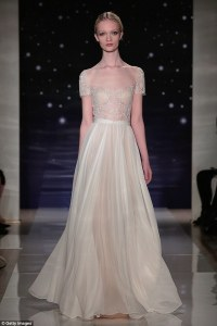 New trend sees brides-to-be donning sexy and see-through ...