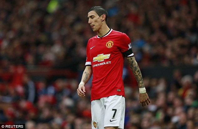 Angel di Maria arrived at Manchester United last summer from Real Madrid for a record £60million fee