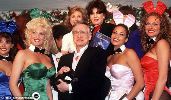 Hugh Hefner, pictured in 1998, has hosted countless parties at the Playboy Mansion in Los Angeles since in opened in 1974