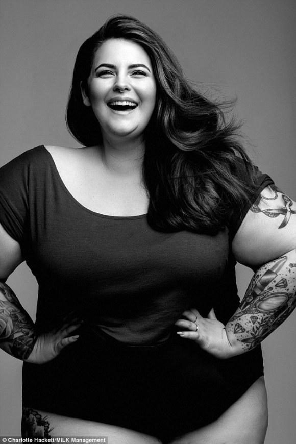 Plus-size stunner Tess Holliday said she wants to 'challenge societies perception of beauty'