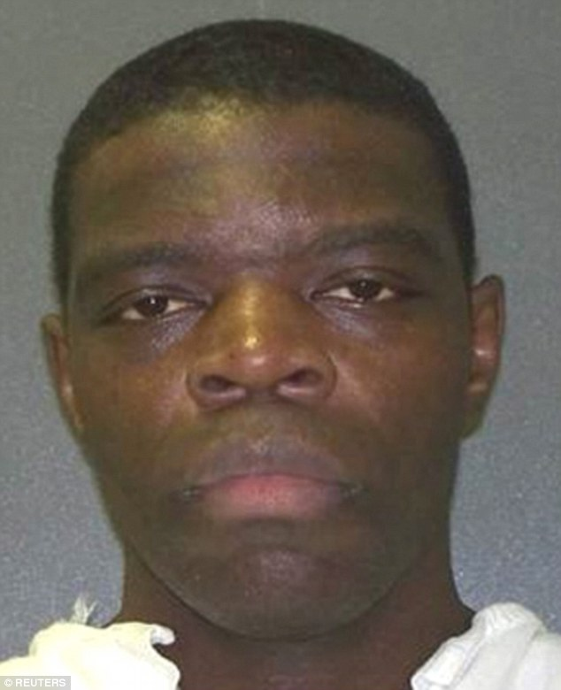 Derrick Dewayne Charles, 32, was executed on Tuesday for the slayings of Myiesha Bennett, her mother, Brenda Bennett, 44, and her grandfather, Obie Bennett, 77, in Houston in July 2002