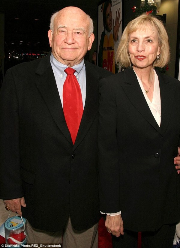 Ed Asner files for divorce from wife Cindy after nearly a