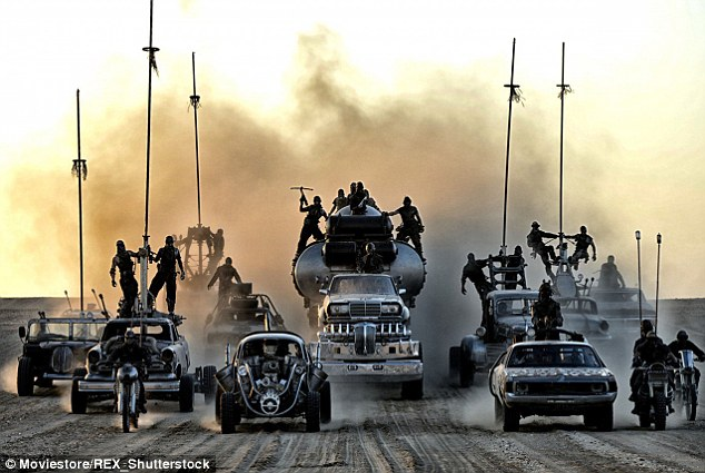There's not enough violence and car crashes in Mad Max: Fury Road for some people