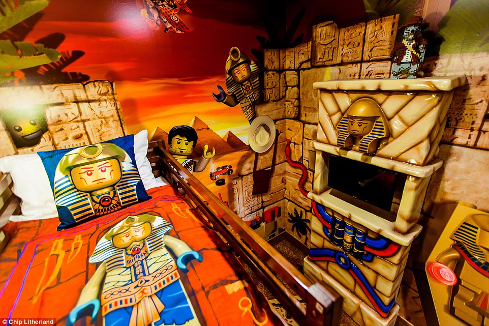 A difficult choice? The themed options available include Pirate, Kingdom, Adventure (pictured) or Lego Friends