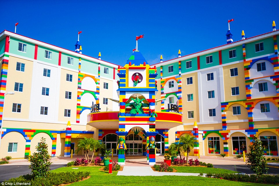The brand new LEGOLAND Hotel, which is part of the LEGOLAND Florida Resort, opened its doors on May 15