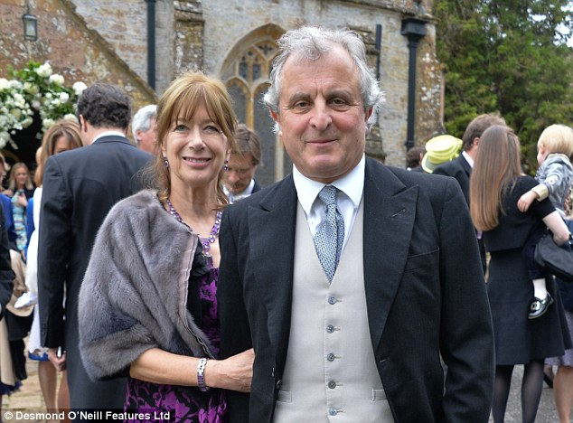 Fears: Lord Astor, pictured with wife Annabel warnedestate owners would worry that 'we will find ourselves regarded as foreigners again in our own country'