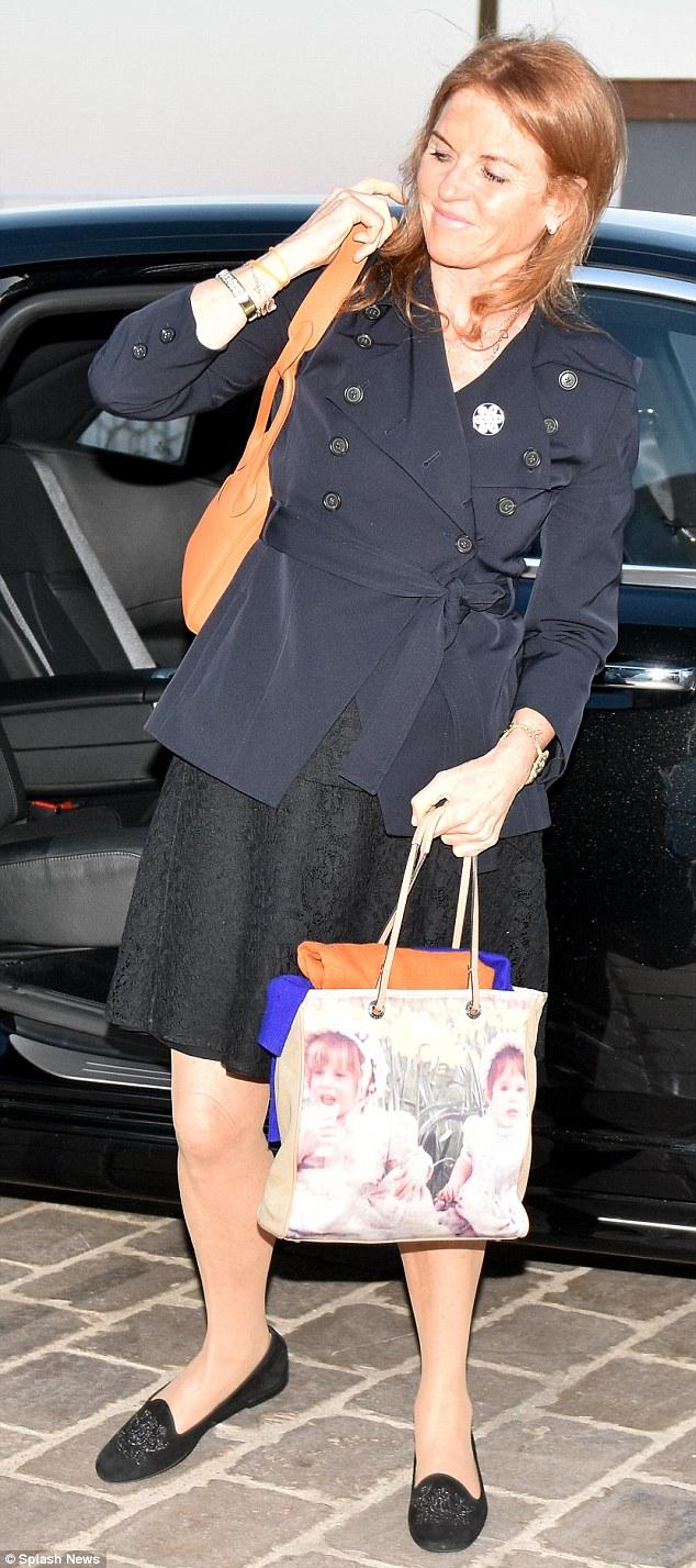 Sarah Ferguson Parties With Paris Hilton And Lewis