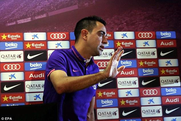 Barcelona captain Xavi Hernandez has announced he will join Qatari side Al-Sadd this summer