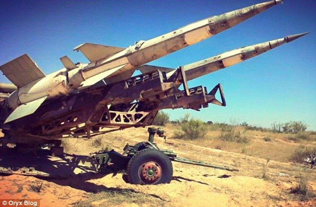 Libya Dawn salvaged 'large numbers' of surface-to-air missiles from the vast amount of land it controls, Libyan-based military blog Oryx claims