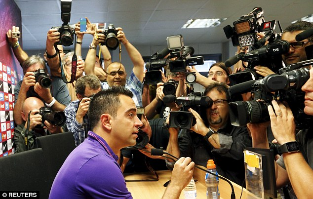 Xavi has announced he will leave Barcelona this summer to join Qatari side Al-Sadd