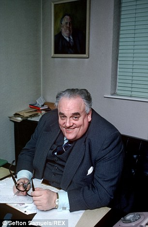 Under fire: Northamptonshire Police have been accused of helping cover up the Cyril Smith scandal