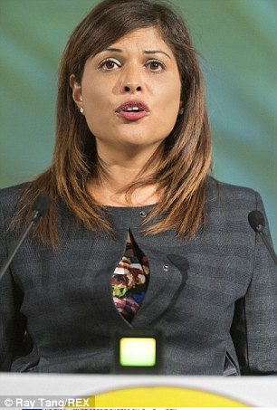 Natasha Bolter at UKIP Party Annual Conference, Doncaster  - 26 Sep 2014